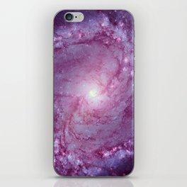 Spiral galaxy iPhone Skin