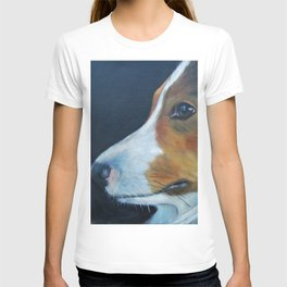 Sheltie Shetland Sheepdog Art T-shirt