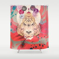 psychedelic Shower Curtains featuring Psychedelic by Pepe Psyche