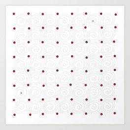 Circular 19 Art Print