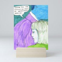 Interesting Person Mini Art Print
