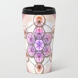 Metatron's Cube - Sun II Travel Mug