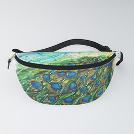 Pretty Peacock Fanny Pack
