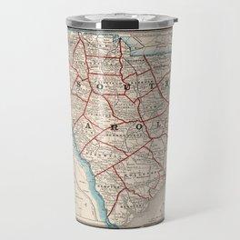 Vintage Map of South Carolina (1893) Travel Mug