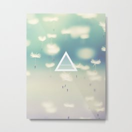 Air Element Metal Print