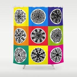 Cactus Art02_A8 Shower Curtain