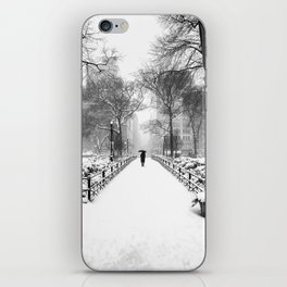 NYC Snow Day – Union Square Blizzard New York iPhone Skin