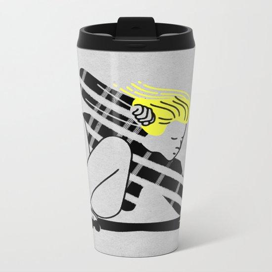 Shred In Peace Metal Travel Mug