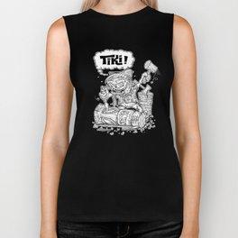Tiki Carver... Rat Fink Monster Chisler! Biker Tank