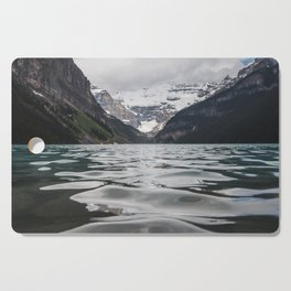 Lake Louise Mountain View Cutting Board