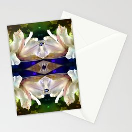 Flowers in the Starlight Stationery Cards