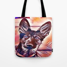 The King Shepherd Tote Bag