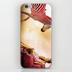 Red Zebra iPhone & iPod Skin