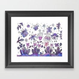 I See Beautiful Things Around Me Framed Art Print