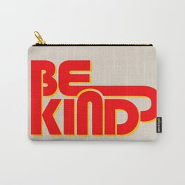 BE KIND - bright typography Carry-All Pouch