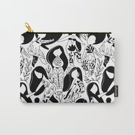 Floral woman. Carry-All Pouch