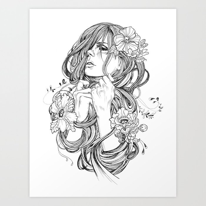 From A Tangled Dream Art Print