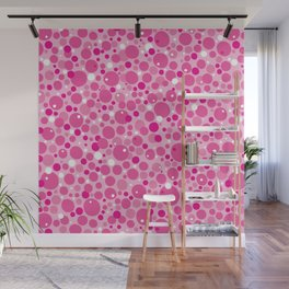 Lick. Tasty Tongue Pattern Wall Mural
