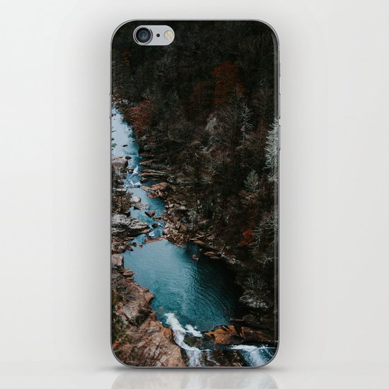 Blue Creek #landscape #society6 iPhone Skin