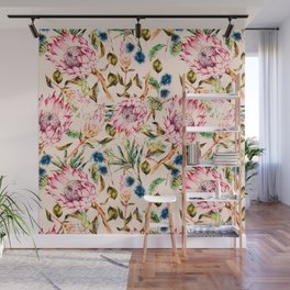 Pattern boho floral Wall Mural