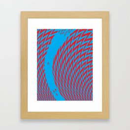 The Ride Illustration Framed Art Print