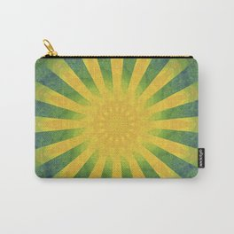 yellow rays Carry-All Pouch