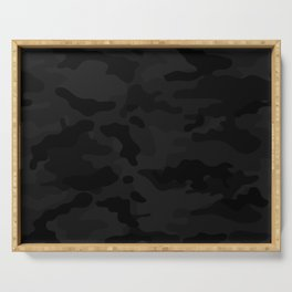Midnight Camo Serving Tray