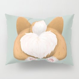 Somebunny loves you / Corgi Butt Pillow Sham