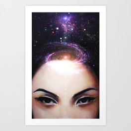 I Need My Space Art Print