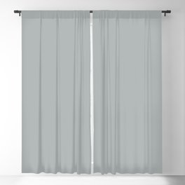 Paloma Grey Pastel Solid Color Block Blackout Curtain