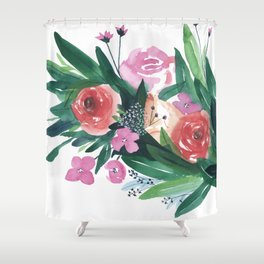 Spring Gatherings Shower Curtain