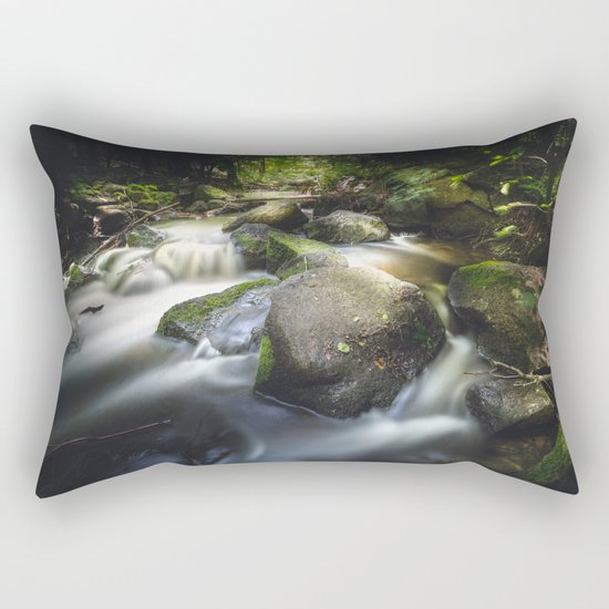 Even in darkness there´s light Rectangular Pillow