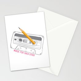 Made for each other Stationery Cards
