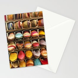 Slipper souk, Marrakech Stationery Cards