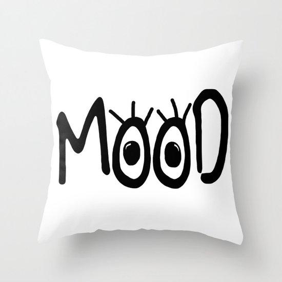 Mood #3 Throw Pillow