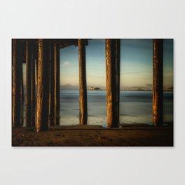 Pier to Pier Harford Pier through Avila Pier San Luis Obispo Canvas Print