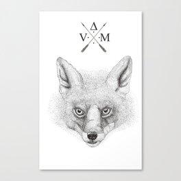 The Fox Canvas Print