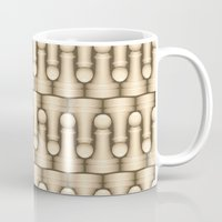 chess Mugs featuring Chess by Kippy