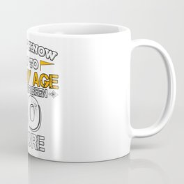Funny Birthday Gift 40 Years Forty Born in 1978 Coffee Mug