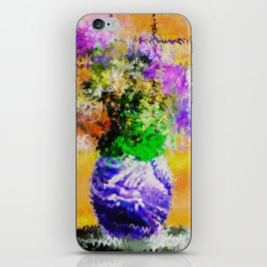 Floral still lifes. iPhone & iPod Skin