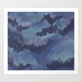 Blobster 15 Art Print