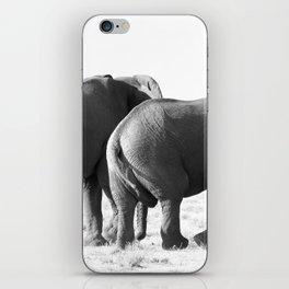 Twin Elephants iPhone Skin