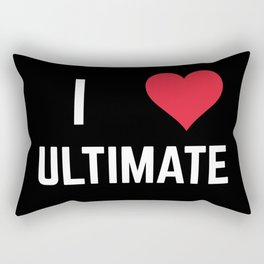 I Heart Ultimate Rectangular Pillow