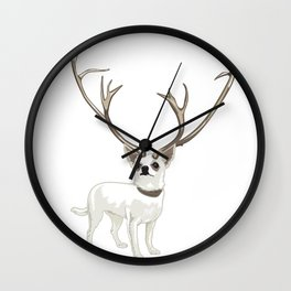 The Chihuahualope Wall Clock