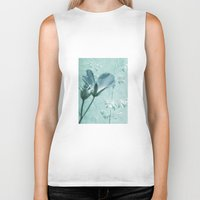 bill Biker Tanks featuring crane's bill  by PaulaPanther