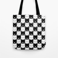 chess Tote Bags featuring Chess by pilastrum