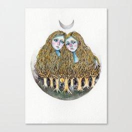 Goblin Market - illustration of poem by Christina Rossetti Canvas Print