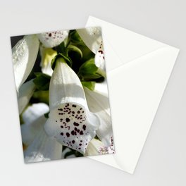 White Bell 'Tattoo' Flowers by Aloha Kea Photography Stationery Cards