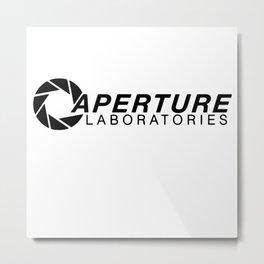 Aperture Laboratories Metal Print