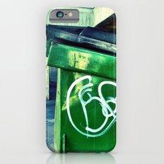 Green graffiti dumpster. iPhone 6s Slim Case